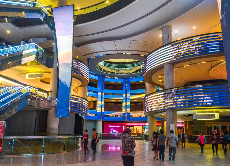 Interiors Sky Avenue Mall at Resorts World Genting