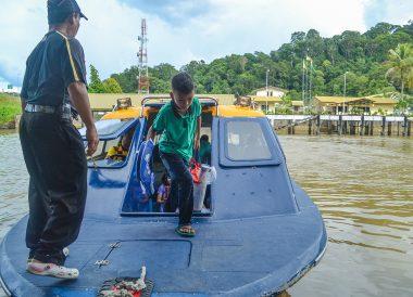 Local River Taxis, Ulu Ulu Resort, Temburong National Park Brunei Borneo