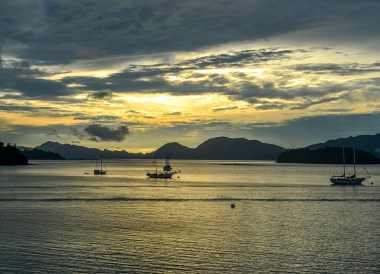 Sunset on Islands, Top Attractions in Langkawi Island Malaysia