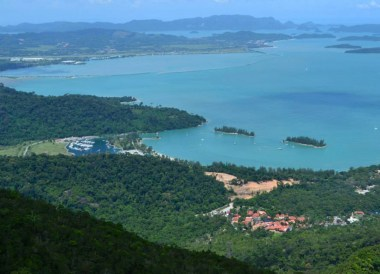Island from Above, Top Attractions in Langkawi Island Malaysia