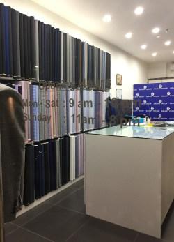 Galaxy Tailors Bespoke Suits in Bangkok Asoke Thailand