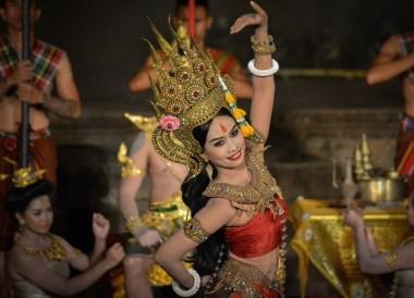 Cute Thai Girl, Phanomrung Festival Historical Park, Buriram Thailand