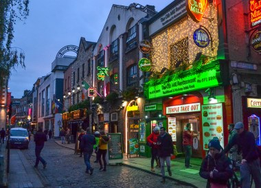 Nightlife in Dublin, Christmas in Dublin City Centre Ireland