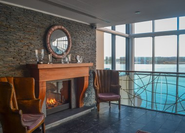 Foyer Views at the Cliff House Hotel Ardmore Waterford Ireland