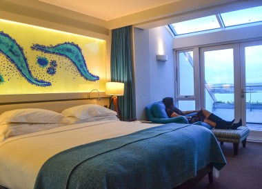 Guestroom Design, Cliff House Hotel Ardmore Waterford Ireland