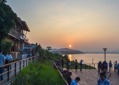 Mekong Riverside, Tourist Attractions in Chiang Khan Thailand, Loei Province