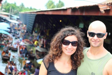 Arya and Campbell of Stingy Nomads, Best Markets in Bangkok for Tourists