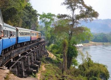 Death Railway, Day Trip Bangkok to Kanchanaburi Tour, Thailand