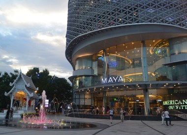 Maya Shopping Mall, Living in Chiang Mai Northern Thailand