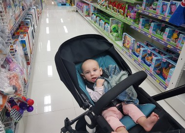 Shopping in Toys R Us for Toys, Living in Chiang Mai Thailand