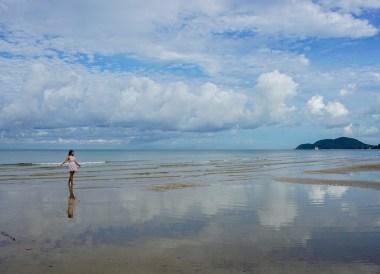Morning on Chao Lao Beach Chanthaburi, Travel in Eastern Thailand