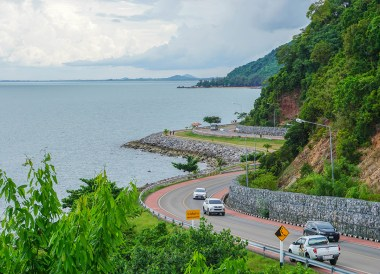 Scenic Route at Noen Nangphaya Viewpoint, Chanthaburi, Travel in Eastern Thailand