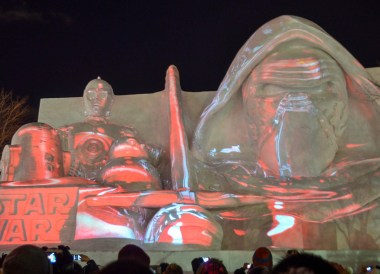 Star Wars Light Show, 24 Hours at the Sapporo Snow Festival by Rail (JR Pass)