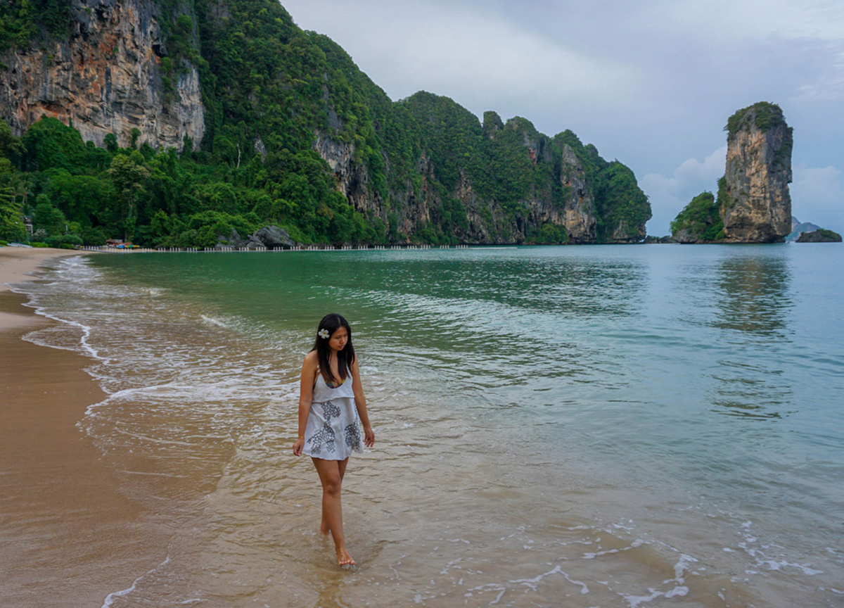 Private Beach at Centara Grand Resort and Villas Ao Nang Krabi Thailand