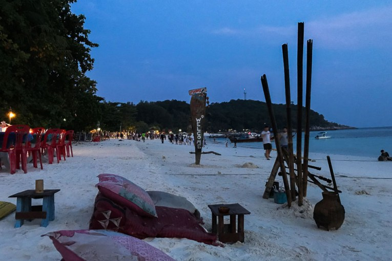 Pattaya Beach at Night, Things to do in koh lipe island Thailand