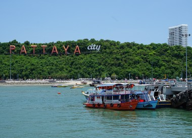 Pattaya Pier, Bangkok to Koh Larn Island Pattaya Thailand