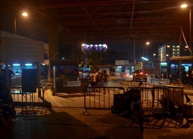 Malaysia Immigration, Malaysia Penang to Hat Yai Thailand by Bus Minivan