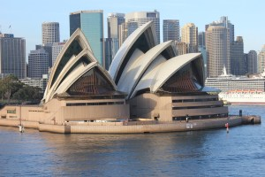 Sydney Opera House, French Polynesia Pacific Cruise Round the World Cruise
