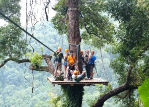 Ziplining in Chiang Mai, Best Things to do in Northern Thailand