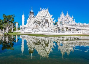 Wat rong khun white temple, Best Things to do in Northern Thailand