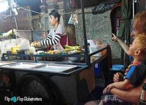 Banana Pancake Stall, Thai Street Food Backpackers Favourite Snacks in Thailand