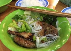Bun Cha Hanoi Vietnam, Best Asian Street Food Eating Cheap in Asia