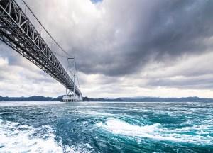 Naruto-Whirlpools, Reasons to See Shikoku Island Japan: Travel in Japan