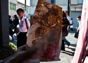Octopus Cracker, Best Asian Street Food Eating Cheap in Asia