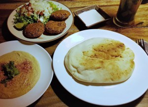 Ethos Vegan Food Restaurant on Khaosan Road Bangkok Thailand