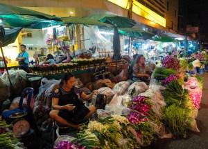 Fresh Bangkok Flower Market Things to do in Bangkok Thailand