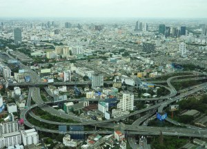 Views from Baiyoke Sky Tower Hotel Things to do in Bangkok Thailand