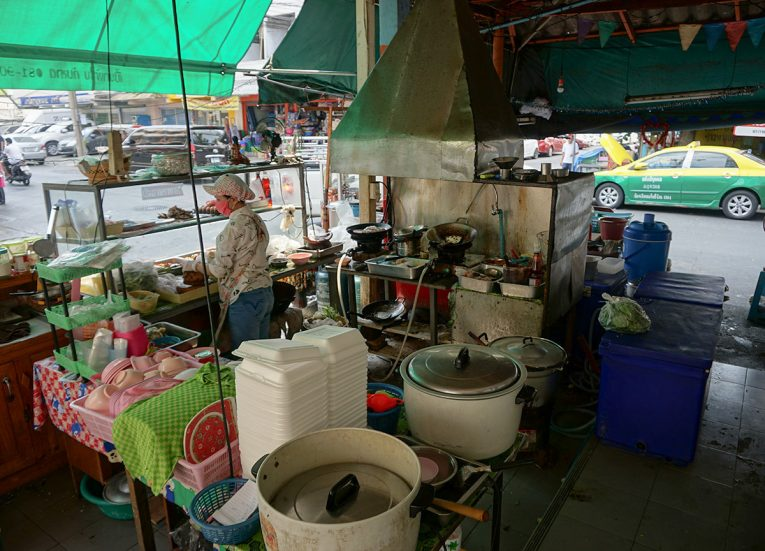 Ahan Tam Sang Made to Order Bangkok Street Food in Thailand