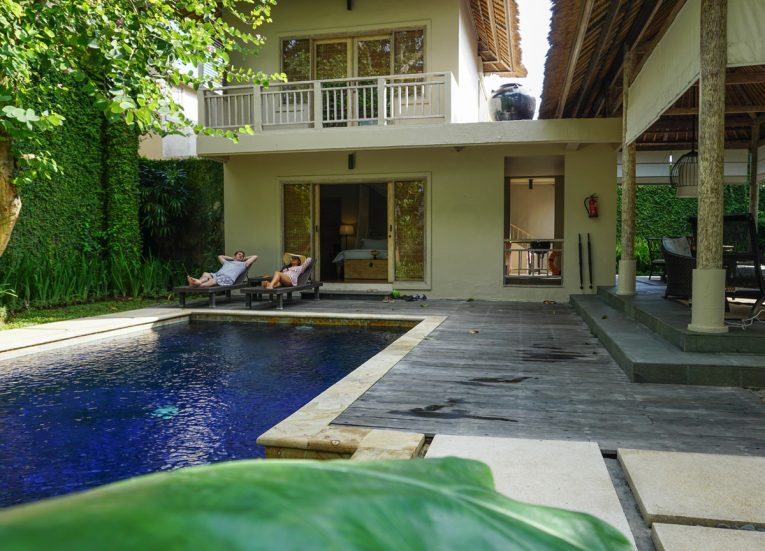 2 Bedroom Private Pool Villas at Kayumanis Sanur Luxury Resort in Bali
