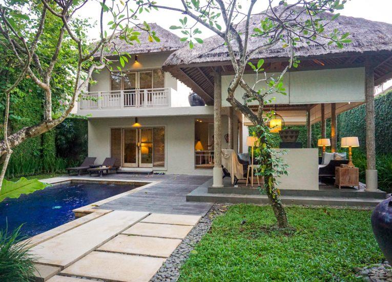 Entrance to Luxury Pool Villas at Kayumanis Sanur Resort in Bali