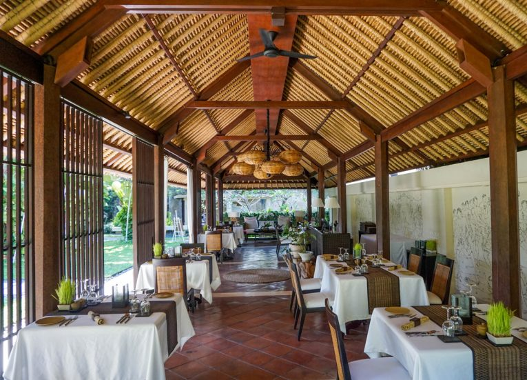 Gong Restaurant at Kayumanis Sanur Private Villa and Spa Treatments in Bali