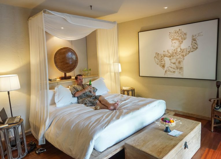 Master Bedroom of Luxury Sanur Villas with Private Pool Kayumanis Sanur in Bali