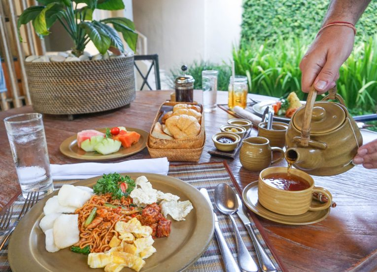 Mee Goreng Breakfast Private Pool Villas at Kayumanis Sanur Luxury Resort in Bali