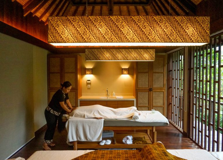 Spa Balinese Massage Luxury Pool Villas at HOSHINOYA Bali Ubud Resort (19)
