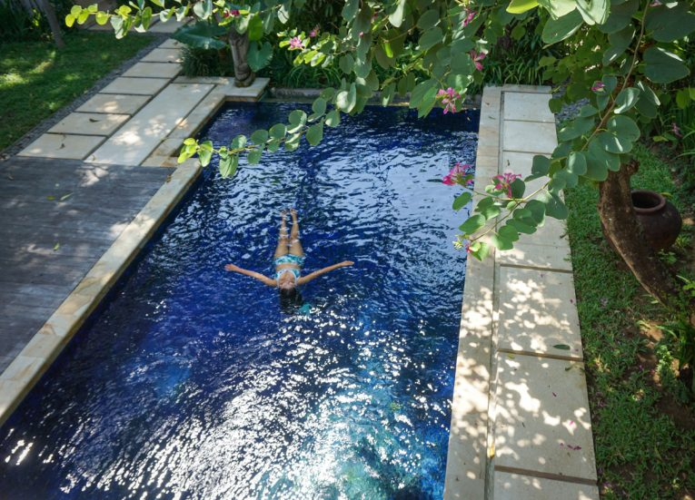 Swimming Pools at Private Pool Villas at Kayumanis Sanur Luxury Resort in Bali