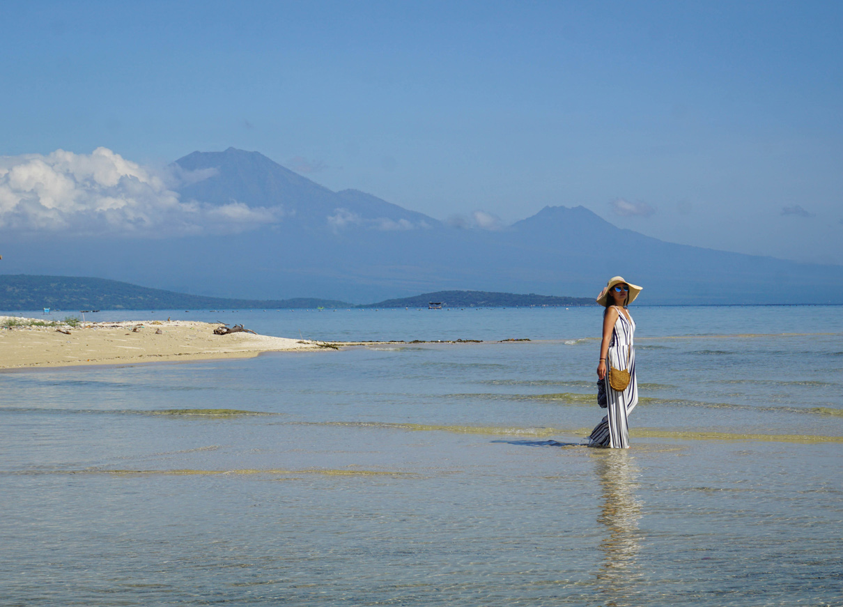 Gili Putih Island in West Bali near Sumberkina in Indonesia