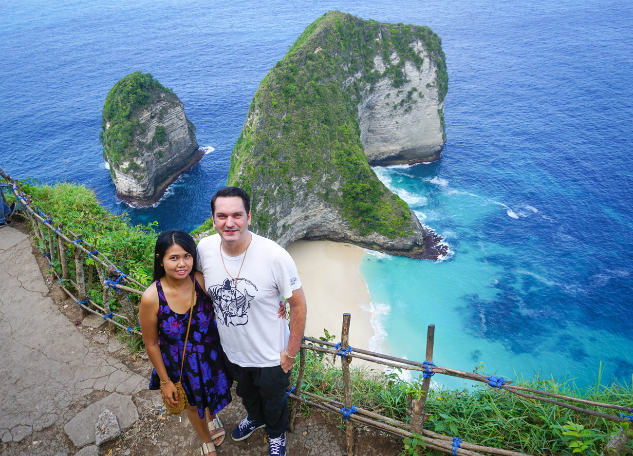 T-Rex Island Nusa Penida. Where to Stay in Bali Indonesia