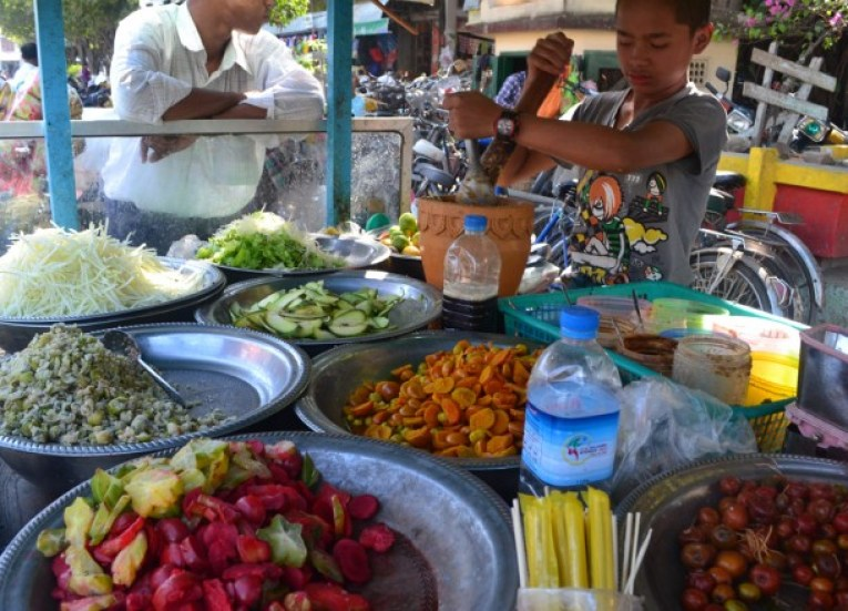 Burma Papaya Salad, Best Som Tam Papaya Salad Thailand Thai