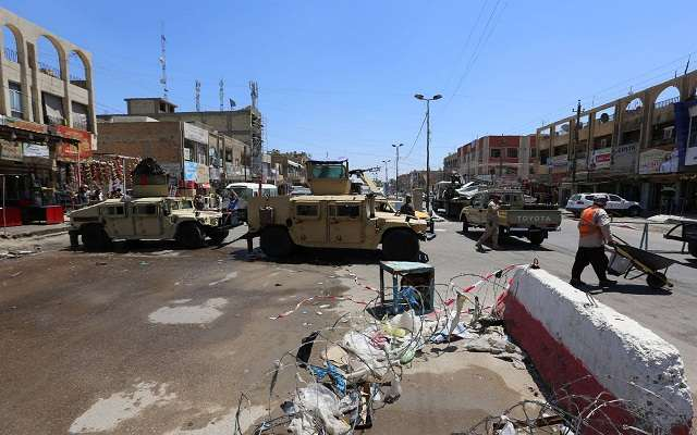 LLL - Live and Let Live - 62 people killed & injured at ISIS bombings in & around Iraq's capital Baghdad