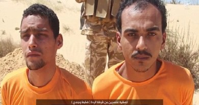LLL - Live and Let Live - ISIS barbarians shoot two Egyptian policemen in the head and threaten Israel in new video