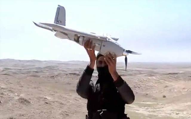 LLL - Live and Let Live - ISIS militants use drones to send explosive devices and watch coalition activities
