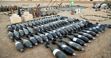 LLL-Live Let Live-ISIS produced thousands of mortars & rockets in Mosul using industrial production scale with products largely purchased in bulk from Turkey