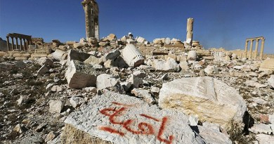 LLL-Live Let Live-ISIS seized weapons and air defense equipment in the ancient city Palmyra