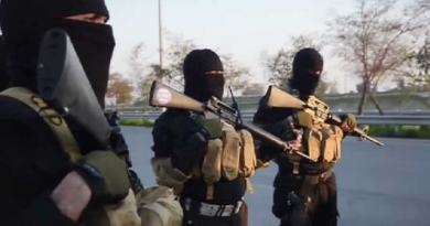 LLL-Live Let Live-ISIS militants attack Federal Police headquarters, killing 19 security members