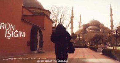 LLL-Live Let Live-ISIS video shows jihadis at Istanbul tourist landmarks promising fresh Turkish terrorist attacks
