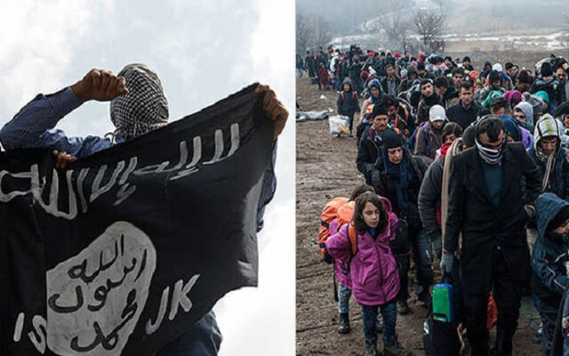 LLL-Live Let Live-ISIS terrorist group is recruiting refugees by offering $1000 and safe passage to Europe